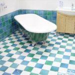 お風呂場の床を重曹を使ってピカピカに掃除する方法