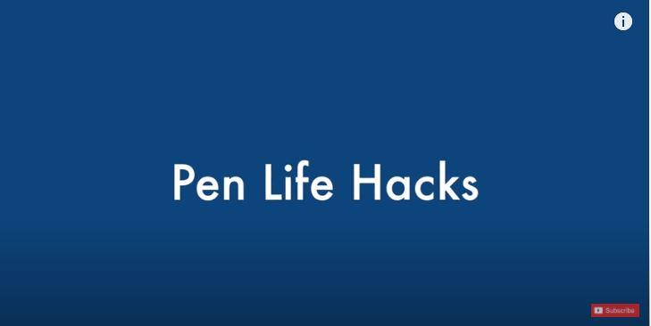 仕事や勉強が効率よく進むボールペンを使った驚くほど簡単な裏技9選